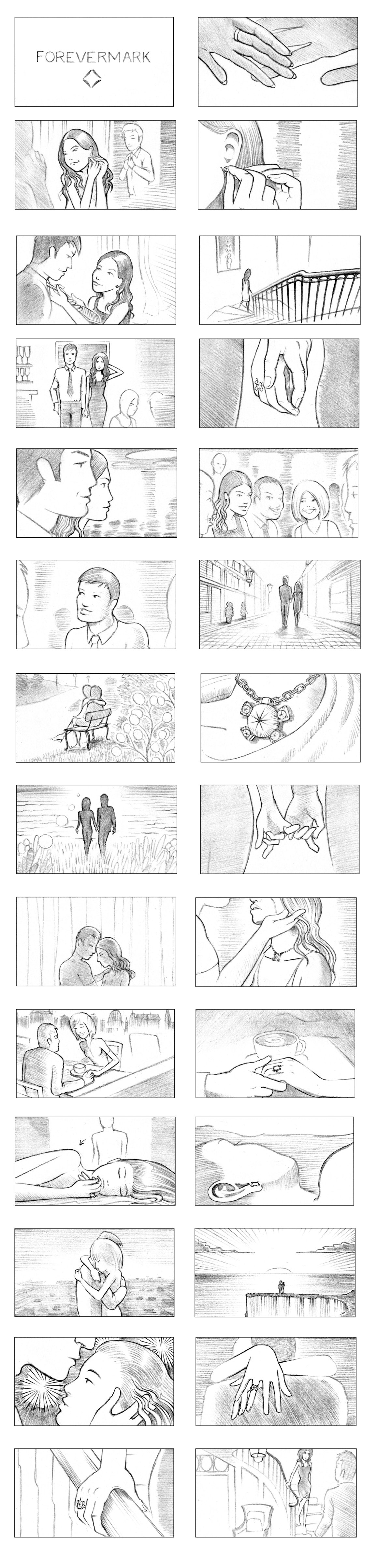 FOREVERMARK STORYBOARD BY ANDY SPARROW