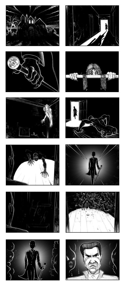 SKY 'HAUNTED' STORYBOARDS BY ANDY SPARROW